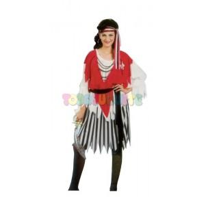 Disfraz Pirata chica Adulto...