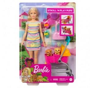 Muñeca Barbie rubia y su...