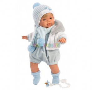 Muñeco Sasha Llorón 38 cms