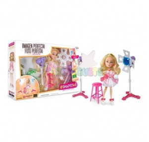 Muñeca SnapStar Aspen + Set...