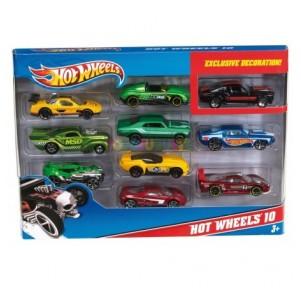 Hot Wheels pack 10...