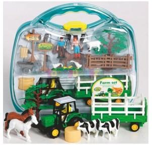 Maletín granja farm set 21...