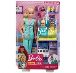 Barbie playset Pediatra
