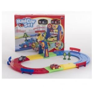 Pista circuito Rail Car Set...