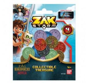 Zak Storm pack 4 monedas
