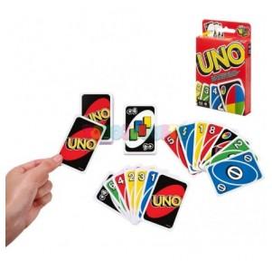 Juego Uno cartas