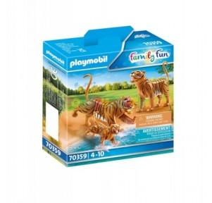 Tigres con Bebé Playmobil