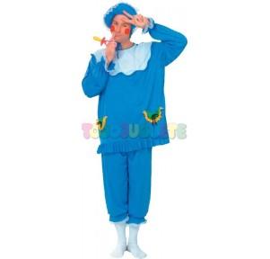 Disfraz Bebé azul  Adulto