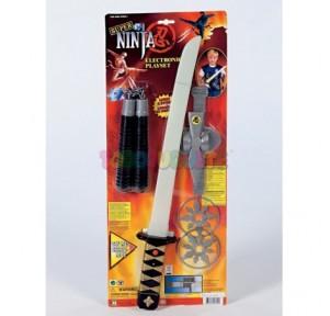 Bl. Ninja Espada con luz y...