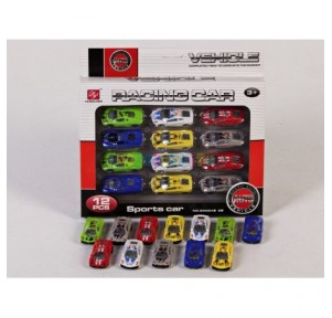 Set 12 coches racing car...