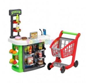 Supermercado con Carrito Smoby