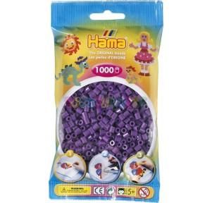 Hama beads bolsa midi violeta