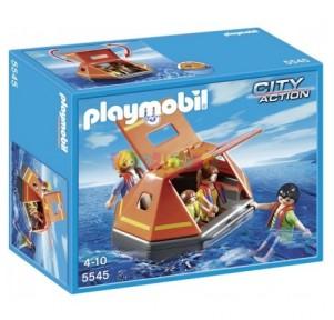 Balsa salvavidas Playmobil