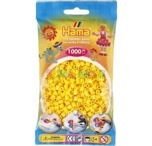 Hama beads bolsa midi amarillo
