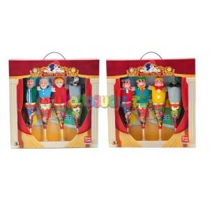 Set 4 marionetas Caperucita...