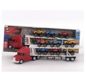 Camión trailer y 6...