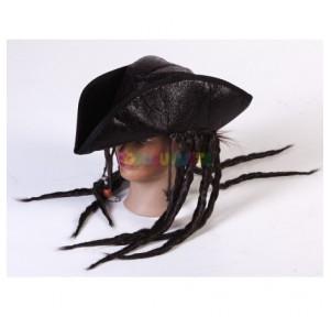 Sombrero pirata marrón...