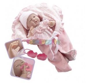 Muñeca New Born Rosa con...