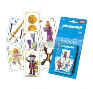 Naipe Infantil Playmobil...