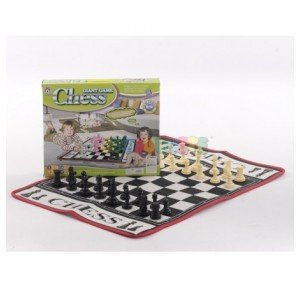 Juego ajedrez tapiz suelo...