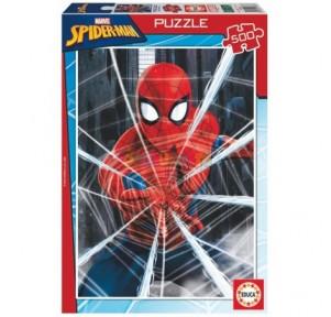 Puzzle 500 Spiderman