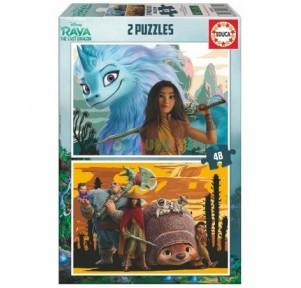 Puzzle 2x48 Raya y El...