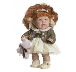 Muñeca Andrea pelirroja...