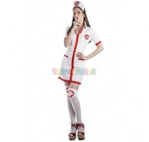 Disfraz enfermera corazones...