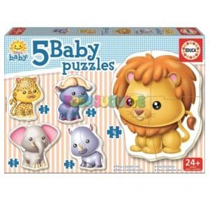 Baby puzzles animales...