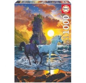 Puzzle 1000 Unicornios en...