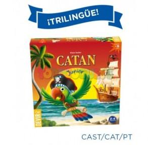 Juego Catán Junior Trilingüe