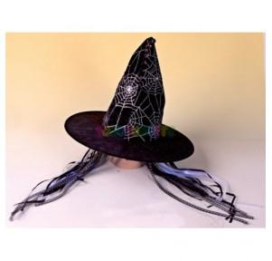 Sombrero bruja telarañas...