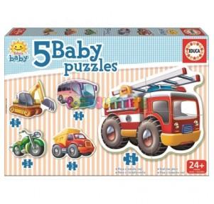 Baby puzzles vehículos  Educa