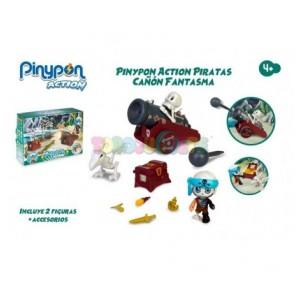 Pin y Pon Action Cañón...