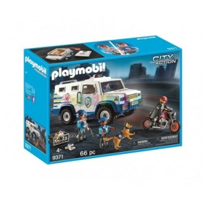 Vehículo blindado Playmobil
