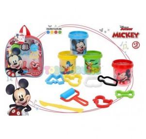 Mochila plastilina Mickey +...
