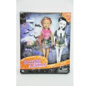 Set 2 muñecas goticas...