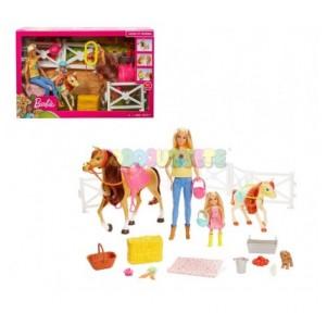 Barbie y sus caballos