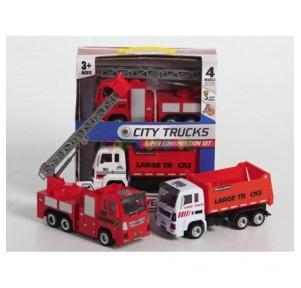 Set 2 camión city trucks...