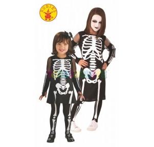 Disfraz Halloween huesitas...