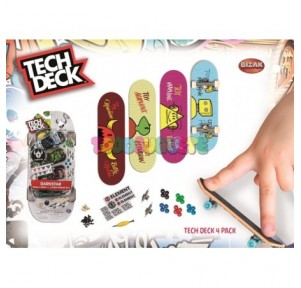 Tech deck monopatín dedo 4...