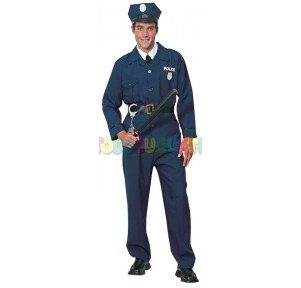 Disfraz policía Luxe Adulto...