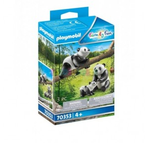 Pandas con Bebé Playmobil