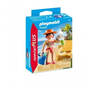 Turista con hamaca Playmobil