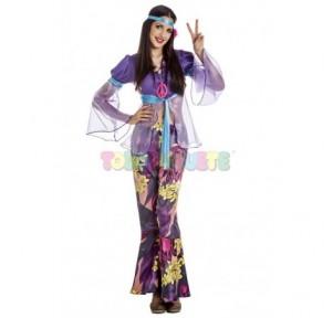 Disfraz Hippie chica fancy...