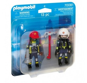 Duo Pack Bomberos Playmobil