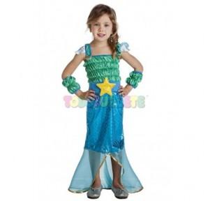Disfraz Sirena Little...