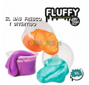 Slime Fluffy surtido 50 grs