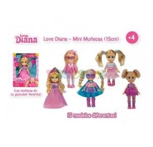 Love Diana Mini Muñeca 15cm...