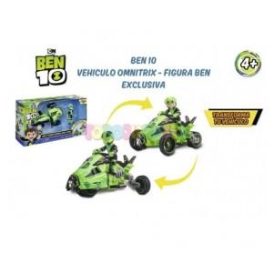 Ben 10 Vehículo Omnitrix +...
